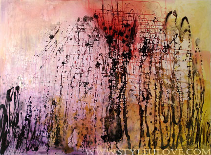 Dreamland by Sylvia Cheung, Mixed Media on Canvas