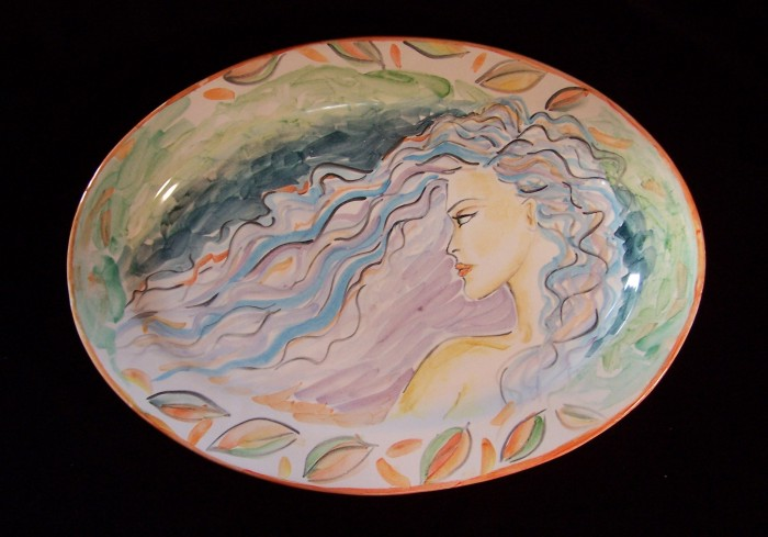 Summer to Fall by Tracey Dorman, Ceramics on Maiolica